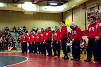 ACHS  Varsity Wrestling vs Northern Lebanon 12.22.15