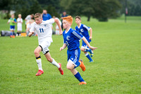 "CCJH ""A"" Team Boys Soccer vs Lower Dauphin 10-9-18 Game 1"