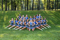 CCHS Cheer Team & Ind. Photos Fall 2019