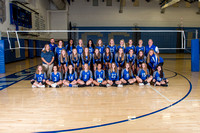CCHS Girls Volleyball Team & Ind. Photos Fall 2019