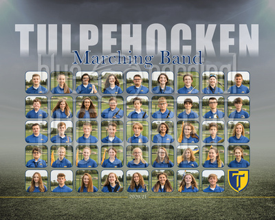 Tulpehocken Marching Band Team & Ind. Photos Fall 2020