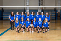 CCJH Girls Volleyball Team & Ind. Photos