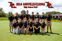 ACHS Golf Team & Individuals