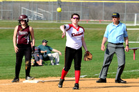 ACHS JV Softball vs Manheim Central 4-13-15