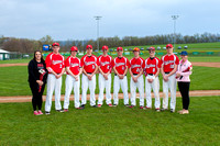 ACHS Varsity Baseball vs Tulpehocken (Senior Night) 05-03-14