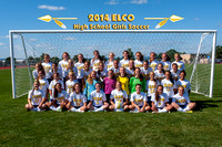 ELCO HS Girls Soccer Team & Individuals