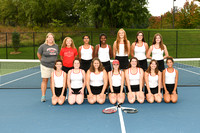 ACHS Girls Tennis Team & Ind. Photos Fall 2017