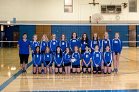 CCJH Girls Volleyball Team & Ind. Photo Shoot Fall 2017